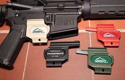 Trigger Safe Firearm Safety for AR15 and Remington Shotguns