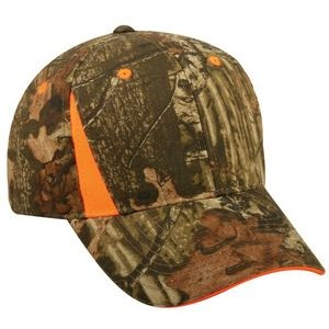 Camo Assorted Cap with Blaze Assorted Inserts